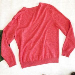 J. Crew Sweaters - J. Crew Men's V-Neck Cotton Sweater Size M EUC